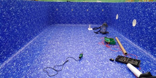 Пленка-ПВХ для бассейнов монтаж