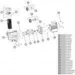 Насос Hayward Powerline 81002 (220В, 5.4 м3/ч, 0.25 HP)
