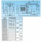 Насос Aquaviva LX SWPB200M (220В, 23.5 м3/ч, 2HP) с префильтром