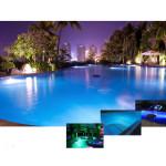 Прожектор светодиодный AquaViva LED029 252LED (18 Вт) RGB + закладная под лайнер