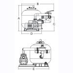 Фильтровальная установка Aquaviva FSB500/88033024