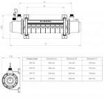 Теплообменник Elecro SST 75 кВт Titan