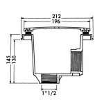 "Слив донный Hayward 3252PAK2 2"" под бетон (компл. 2 шт)"