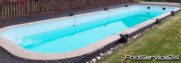 Консервация бассейнов на зиму