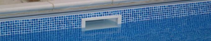 Скиммер для бассейна встроенный