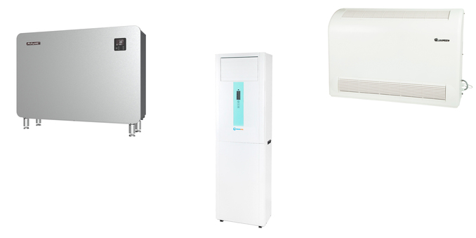 Dehumidifiers for swimming pools
